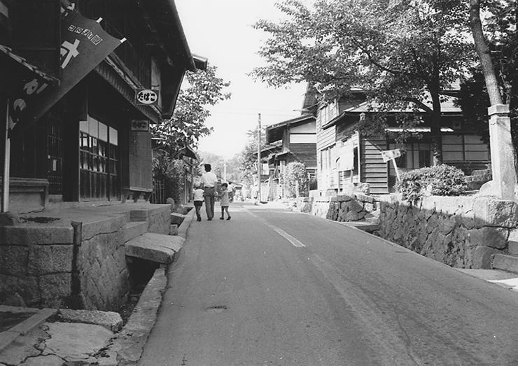 昭和40年代の妻籠宿_風景